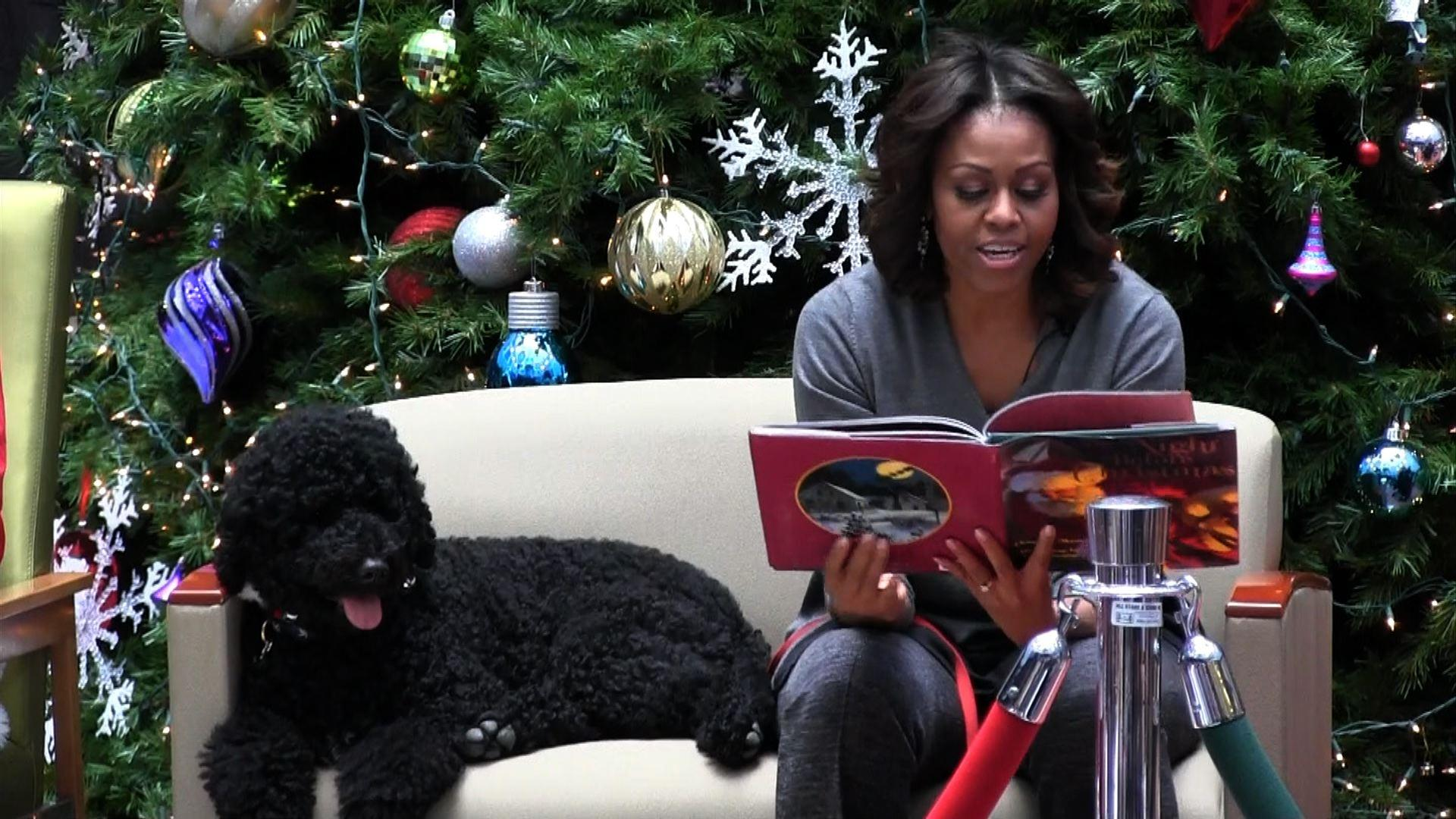 Michelle Obama Visits National Children's Hospital