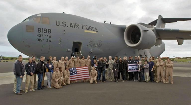 USO - For the Troops: USO - For the Troops