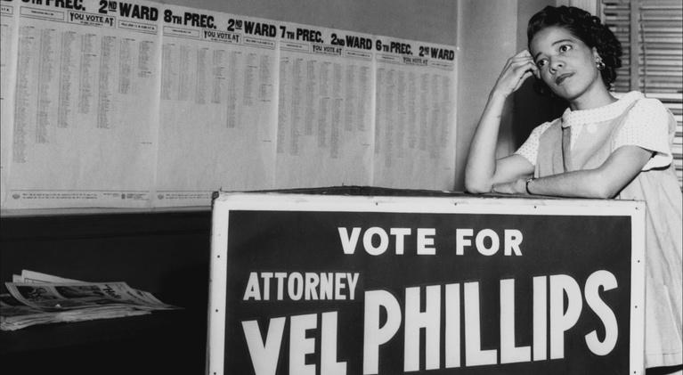 Vel Phillips: Dream Big Dreams: The First Election