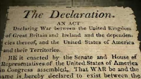 The War of 1812 -- Declaration of War