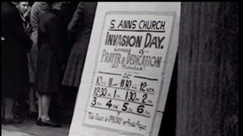 The War -- D-Day in Luverne