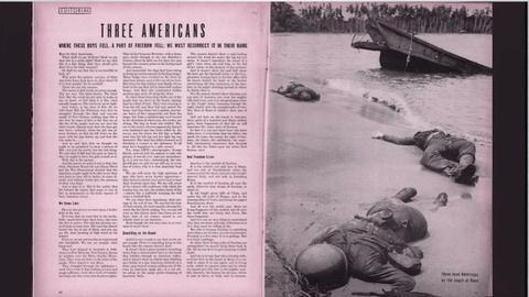 The War -- Here Lie Three Americans