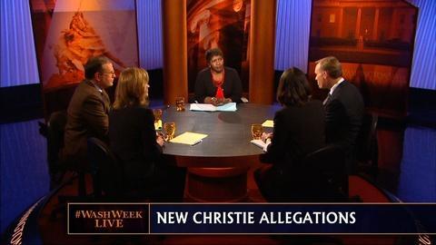 Washington Week -- The Latest Developments for Chris Christie in Bridge Scandal