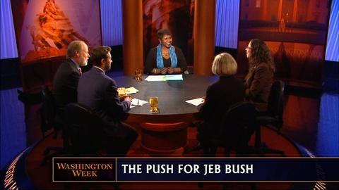 Washington Week -- Most Endangered Incumbents in 2014 & Jeb Bush in 2016