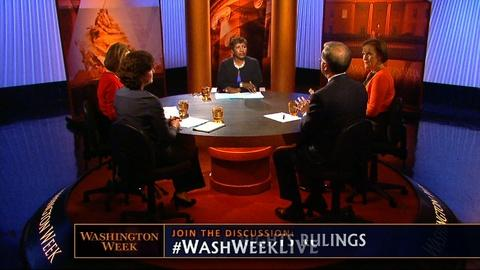 Washington Week -- Supreme Court rules on voting rights, Obama and Romney