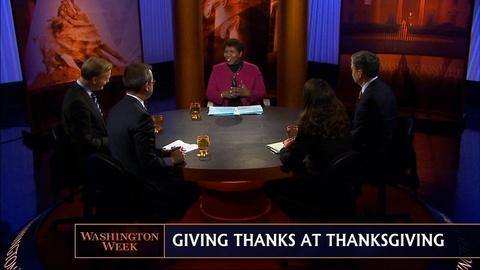 Washington Week -- Our Panelists Give Thanks