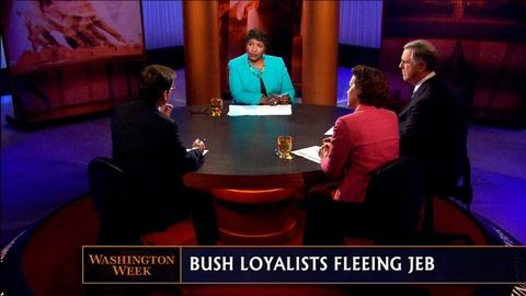 Washington Week -- Bush Loyalty, New Boston Terror Threat and Lincoln the Hawk