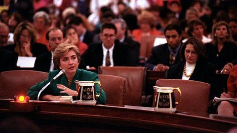 Washington Week -- Hillary Clinton Testifies on Capitol Hill on Health Care