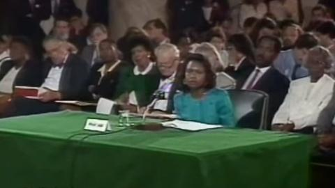 Washington Week -- Anita Hill testifies at Clarence Thomas confirmation hearing