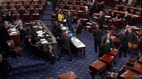 Washington Week -- Congress averts shutdown. Plus, the two Donald Trumps.