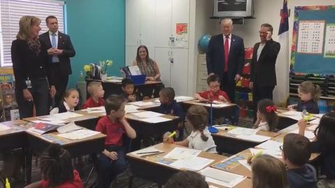 "Washington Week -- Kids react to Donald Trump: ""I'm nervous."""