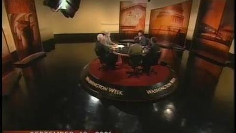 Washington Week -- Vault: September 13, 2001