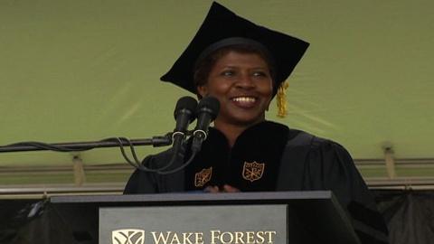 Washington Week -- Gwen Ifill gives Wake Forest University Commencement Address