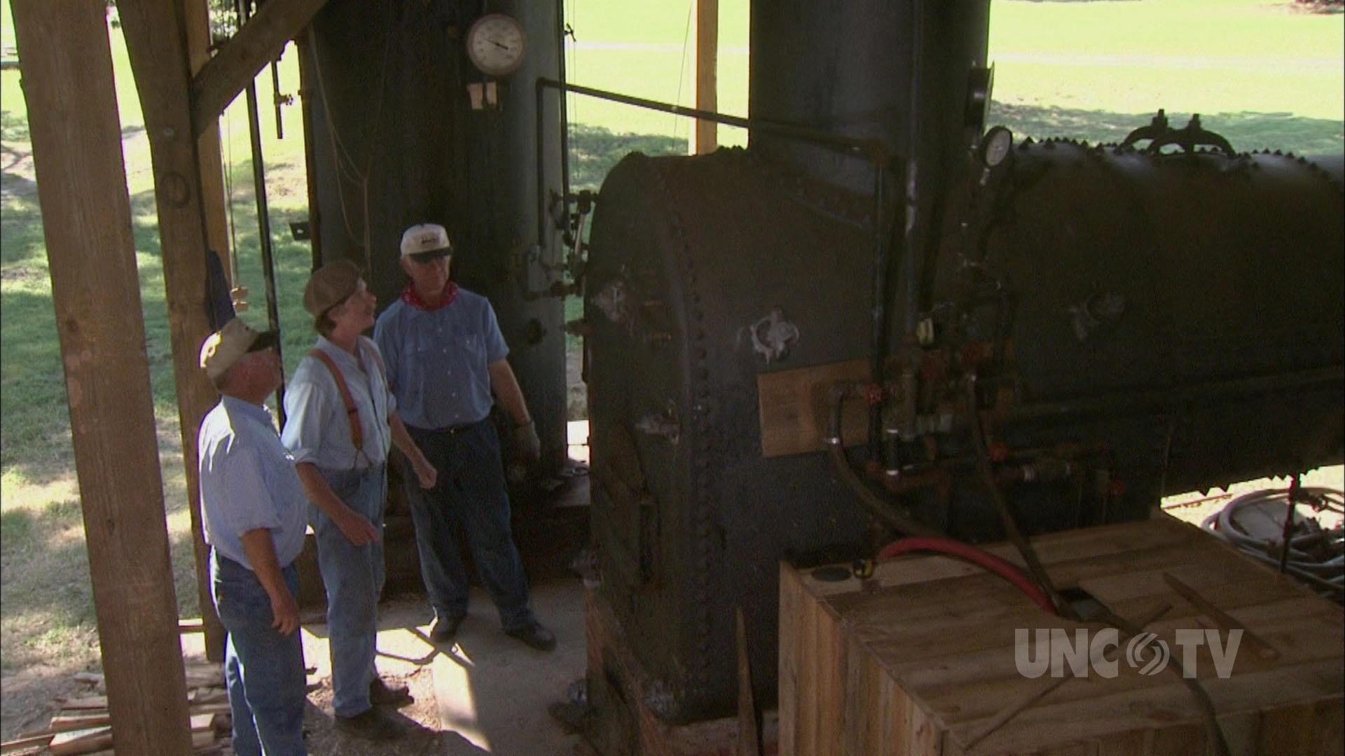 Steam Power Sawmill
