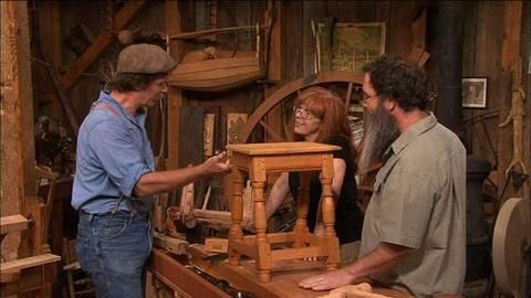 S31 E7: Elizabethan Joint Stool with Peter Follansbee