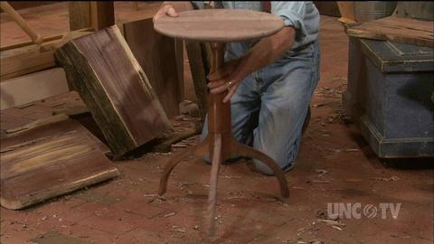 S29 E10: Hancock Pedestal Table