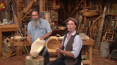 S35 E8: Bowl Carving with Peter Follansbee