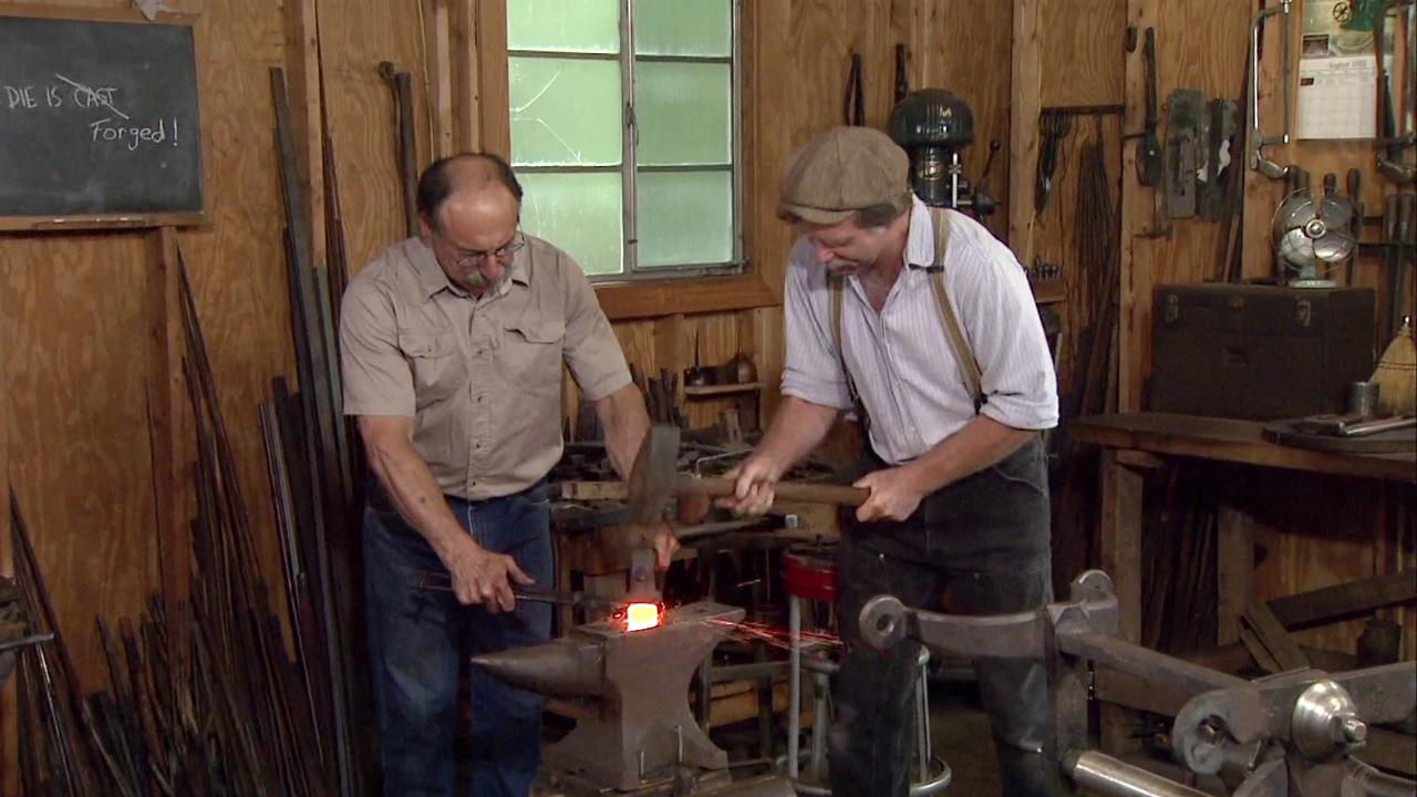 Tool Smithing with Peter Ross