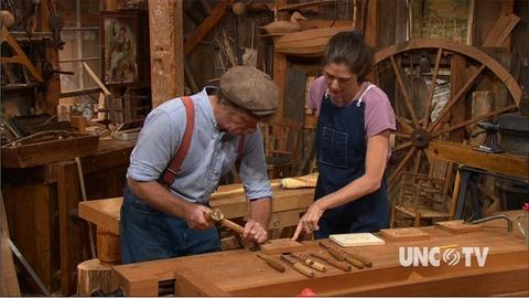 S32 E10: Carving the Camellia Woodcarver