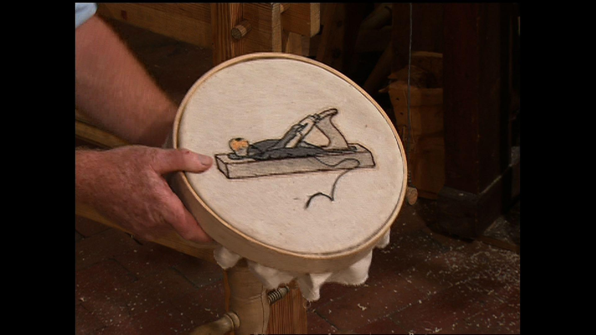 Ball & Socket Embroidery Stand, Part 2