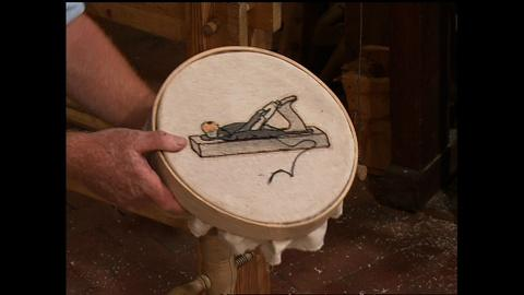S27 E3: Ball & Socket Embroidery Stand, Part 2