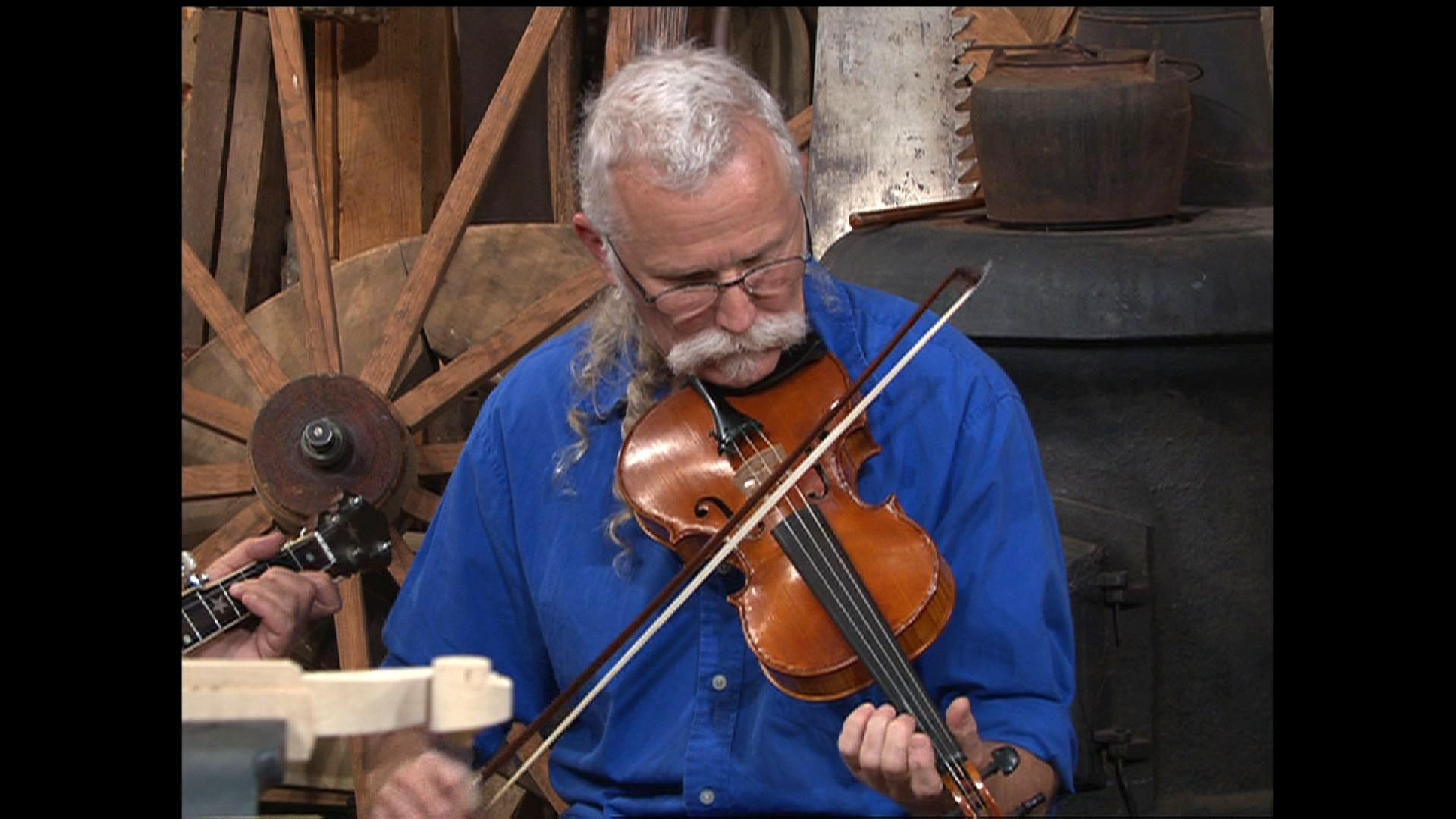 Violin Maker Joe Thrift