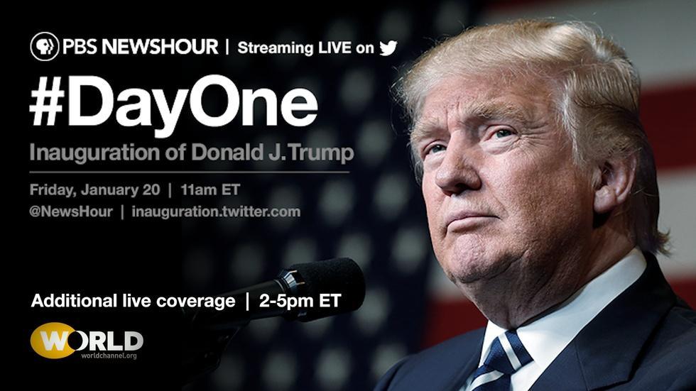 PBS NewsHour Inauguration 2017 image