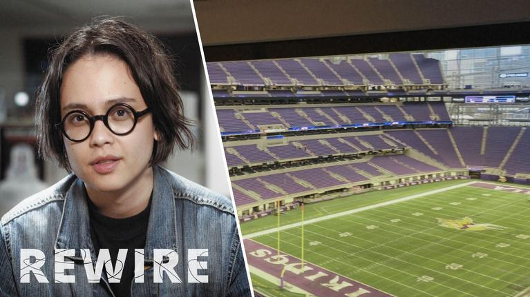 Rewire: The Super Bowl's Recycling Solution