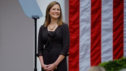 PBS NewsHour -- 2 views on the judicial philosophy of Amy Coney Barrett