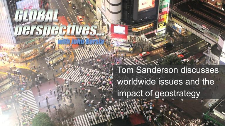 Global Perspectives: Tom Sanderson - Sunday at 9:30am