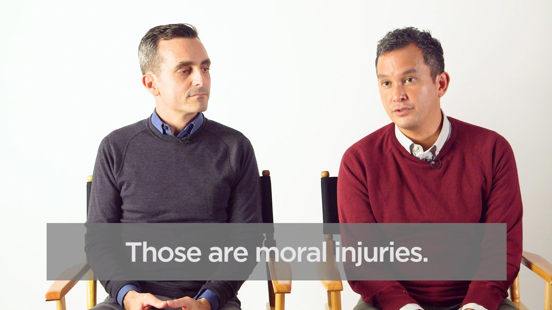 What is moral injury?