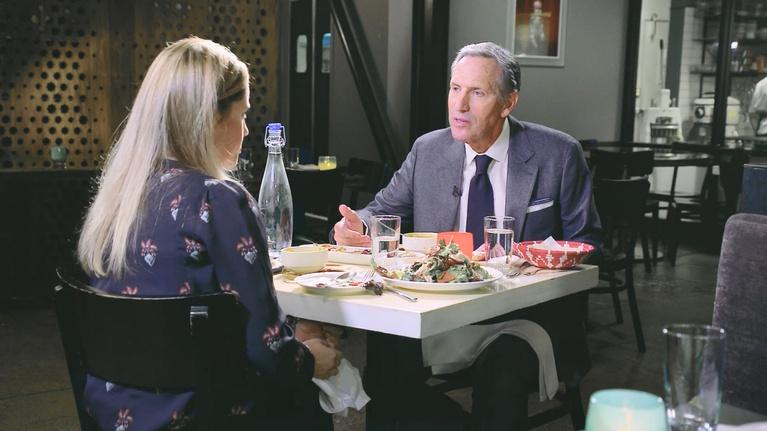 To Dine For with Kate Sullivan: Episode 101: Howard Schultz