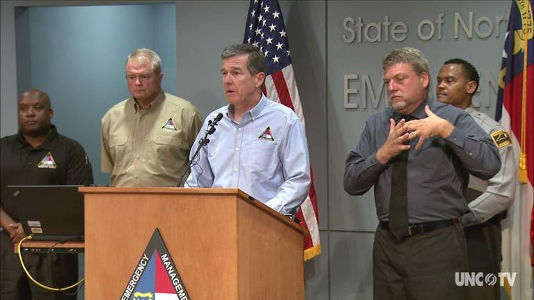 NC Emergency Management and Weather: NC Gov. Cooper: Hurricane Michael: 10:30AM-10/11/18