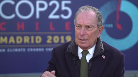 Amanpour and Company -- An Exclusive Interview with Michael Bloomberg