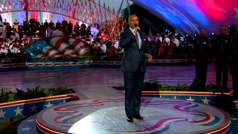 "National Memorial Day Concert -- Christopher Jackson Perform ""Last Full Measure of Devotion"""