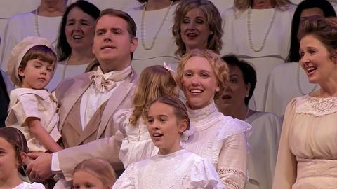 "Christmas with the Mormon Tabernacle Choir -- Hugh Bonneville on ""It Is Well With My Soul"""
