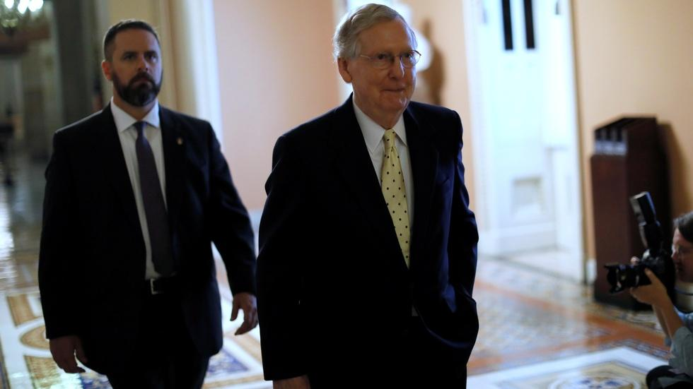 McConnell aims for full Obamacare repeal image