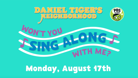 The Thank You Song Daniel Tiger S Neighborhood Videos Pbs Kids