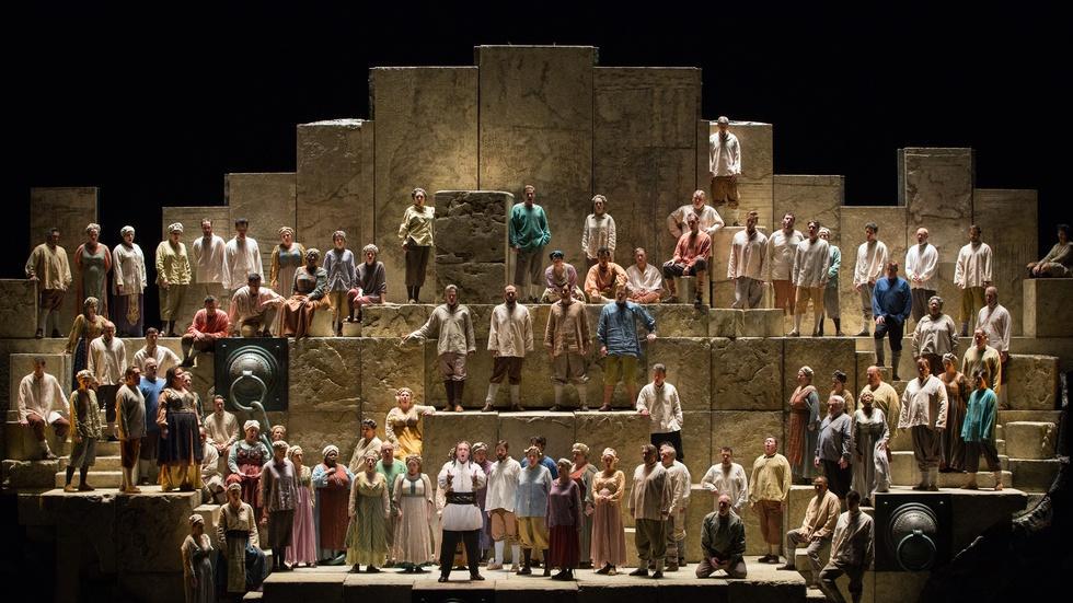The Chorus   GP at the Met: Nabucco image