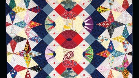 Craft in America -- Victoria Findlay Wolfe on her quilts