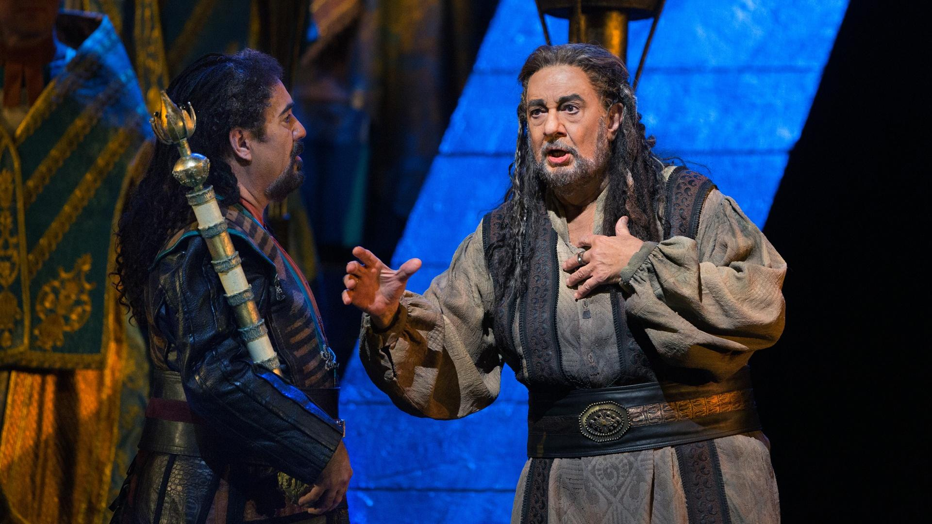James Levine, Placido Domingo, and Peter Gelb | G