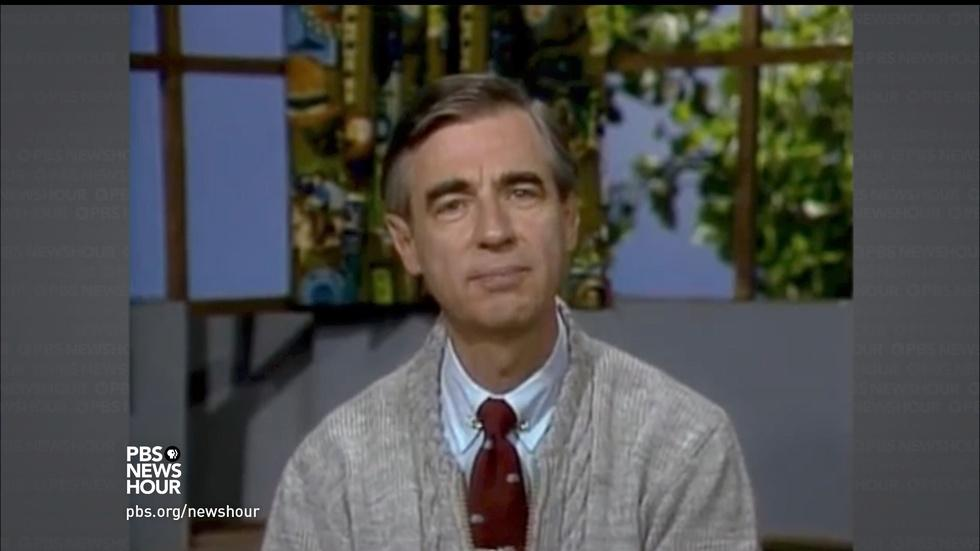 That time Mister Rogers comforted me in real life image