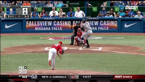 PBS NewsHour -- Baseball's star rookies specialize in the art of hitting