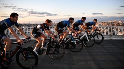 This year's Tour de France is a virtual ride