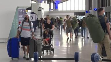 Expert advice as air travel strong and COVID-19 cases rise