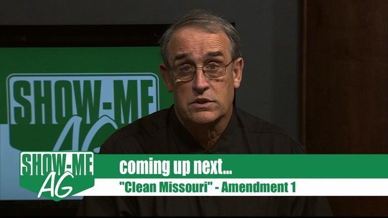 Show-Me Ag: Clean Missouri Amendment