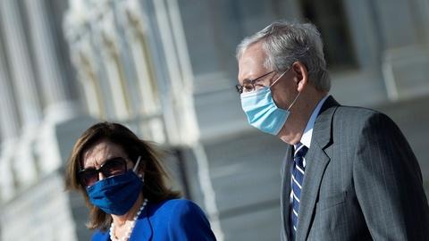 PBS NewsHour -- Congress stuck in 'staring contest' over pandemic aid deal