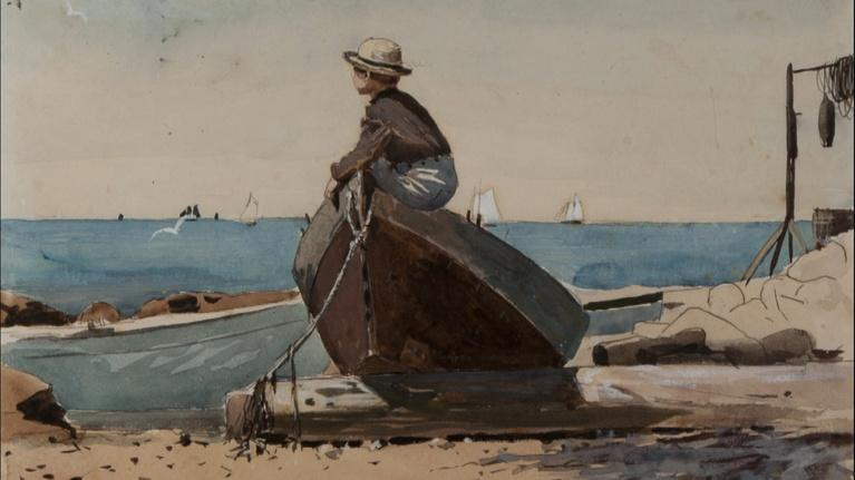 """Open Studio with Jared Bowen: """"Homer at the Beach"""" & Downton Abbey writer Julian Fellowes"""