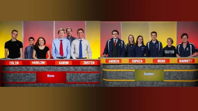Quarterfinal Match 4 - Bow High Vs. Exeter High