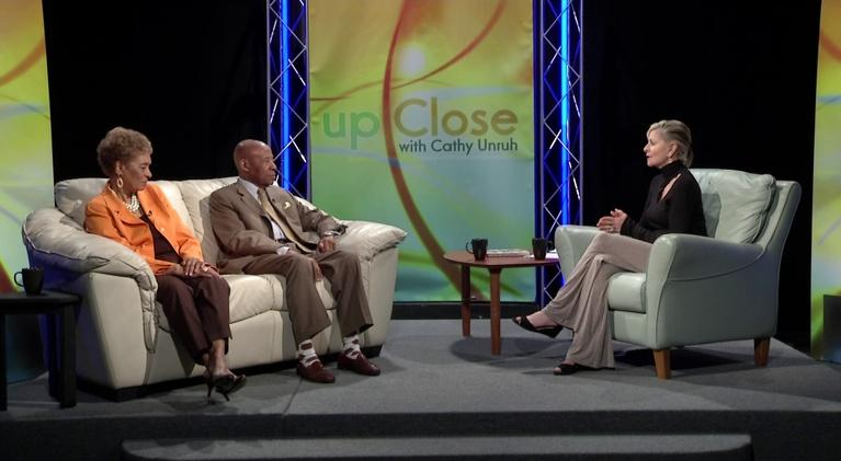 Up Close With Cathy Unruh: April 2019: Dr. Bernard & Lois Watson